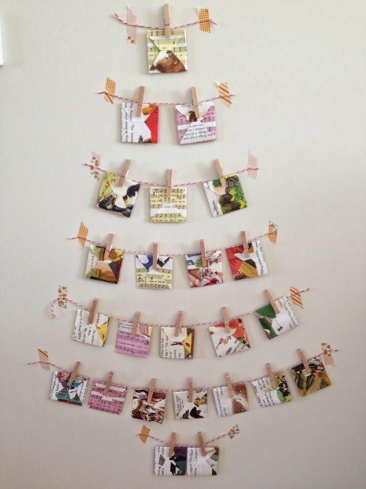 casa de fifia blog de decoração : 20 arvore de natal alternativa, de tule, pet, pelete, pompom ..