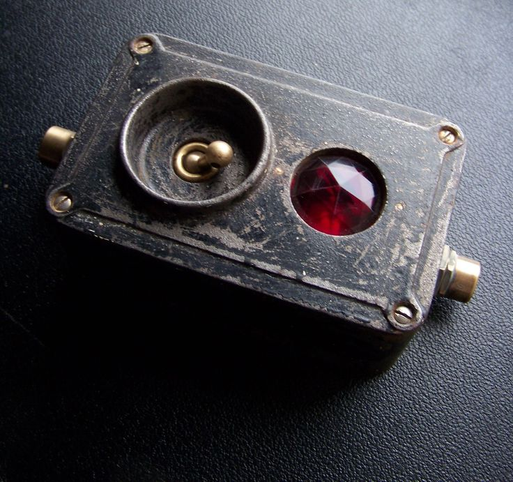 Industrial Factory Unusual Crabtree Cast Iron Ruby Vintage Light Switch RARE | eBay