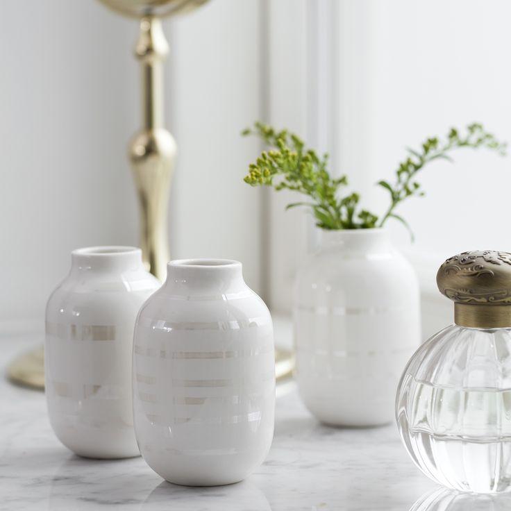 Kähler Perlemor – opdag en ny version af den skønne Omaggio-vase