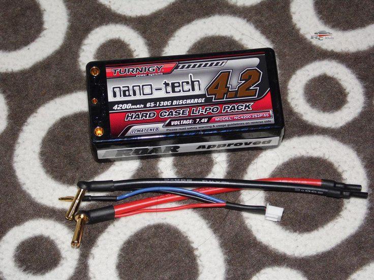 Turnigy nano-tech Shorty 4200mah 2S2P 65~130C keménytokos Lipo Pakk (ROAR)