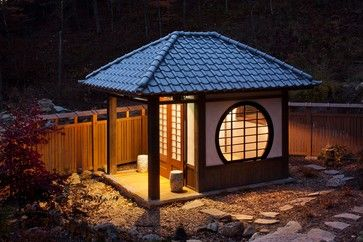 Lucey Tea House - world - Garage And Shed - Other Metro - Andrew A. Willett, Architect, PA