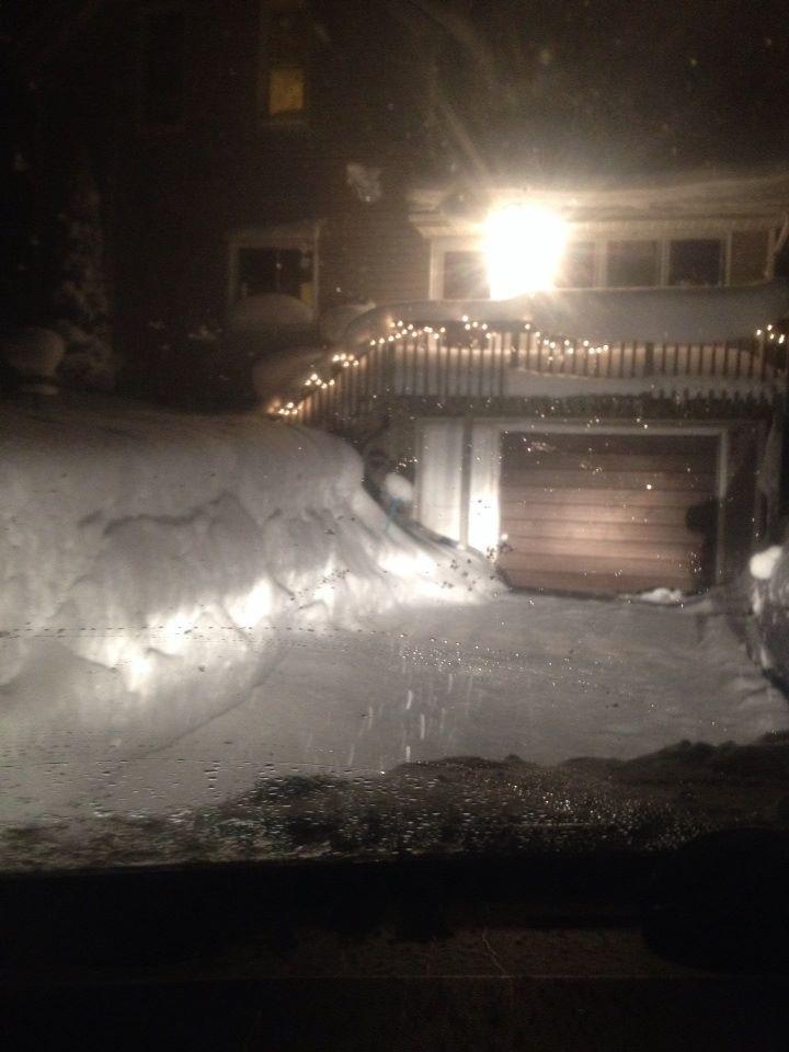 Snow Jan. 2014