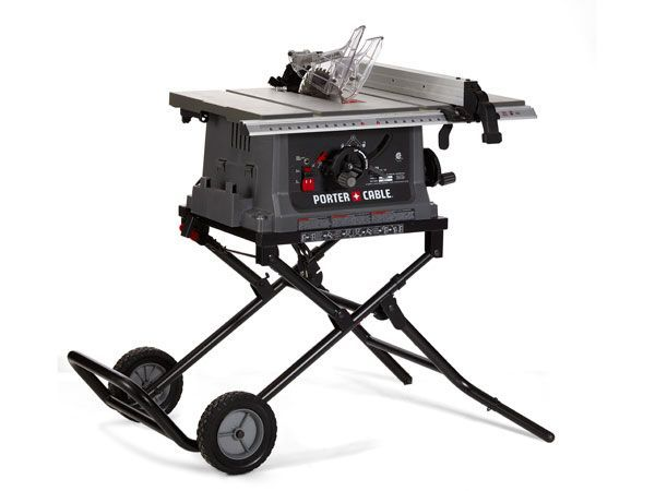 Porter Cable 10 Inch Jobsite Table Saw Portable Table Saw Best Table Saw Diy Table Saw