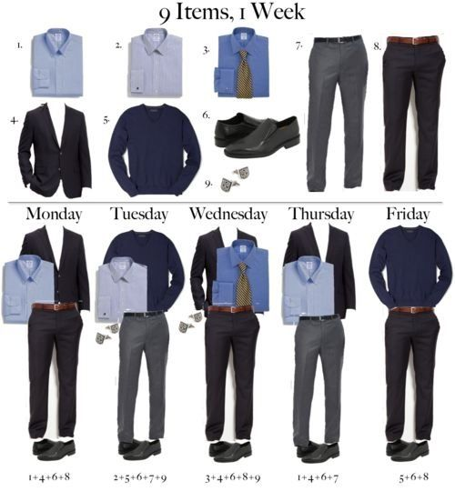 Total = $650 ($735 incl HST), Shirts @ $50 x 3, Pants @ $100 x 2, Oxford Shoe @ $100, Blazer @ $150, V-Neck @ $50