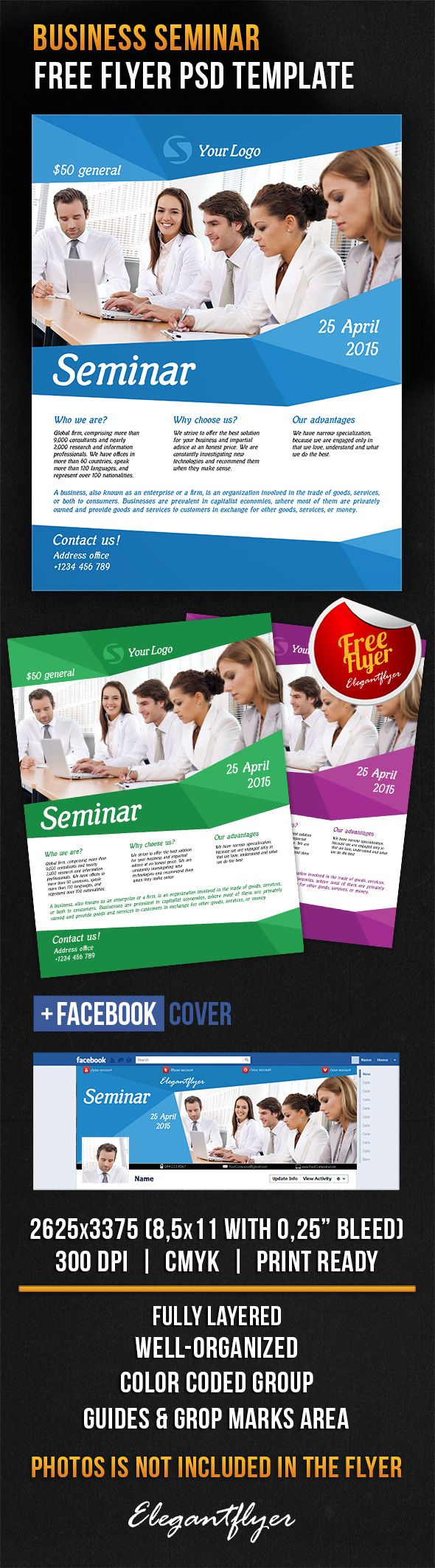 best ideas about flyer design flyer business seminar flyer psd template facebook cover