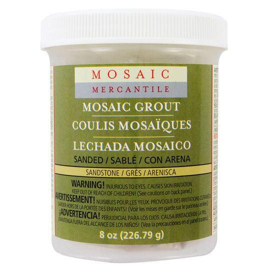 Mosaic Mercantile Sanded Grout, Sandstone