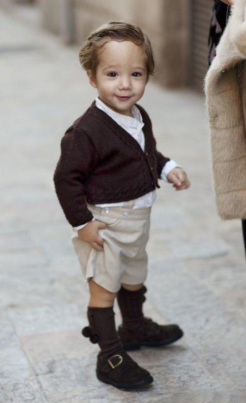 Isn't he a perfect (mini) italian??