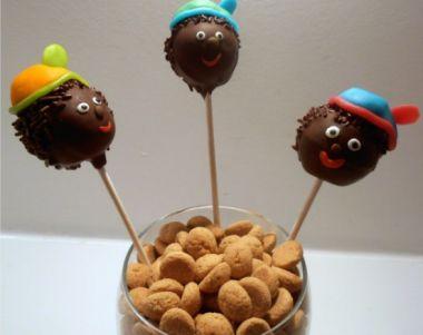 Zwarte piet cakepops workshop