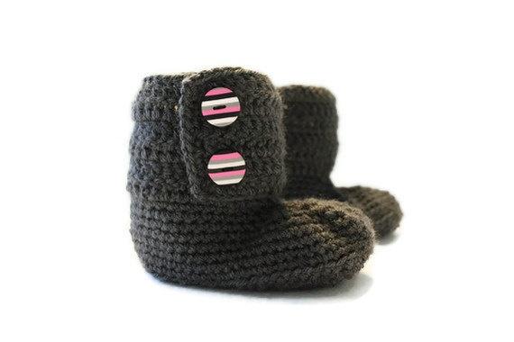 Crochet Pattern Ugg Style Boots