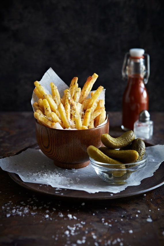 French Fries With Salt And Thyme /