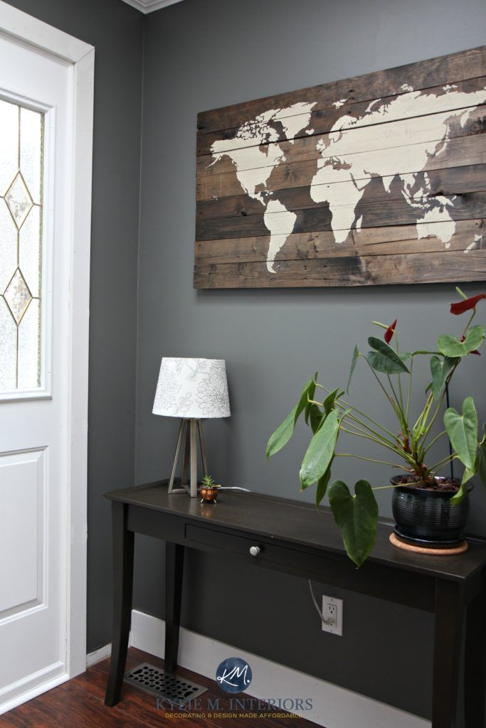 The 10 Best Dark Colours For A Dark Room Or Basement Kylie M Interiors Family Room Paint Family Room Paint Colors Room Paint Colors