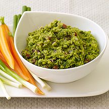 Skip guacamole once in a while and try this Green Pea Dip for a refreshing change of pace. #recipe #WWLoves