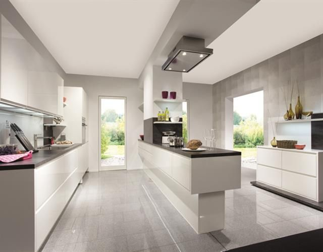 Nobilia handleless kitchens are modern and sleek audus kitchens