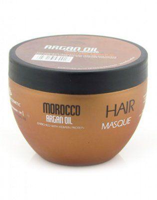 Восстанавливающая маска с маслом арганы, протеинами и аминокислотами кератина, Argan Oil from Morocco Nuspa, 250мл от ARGAN OIL from MOROCCO за 539 руб!
