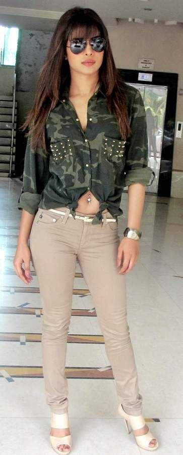 Priyanka Chopra Style- Colored Denims