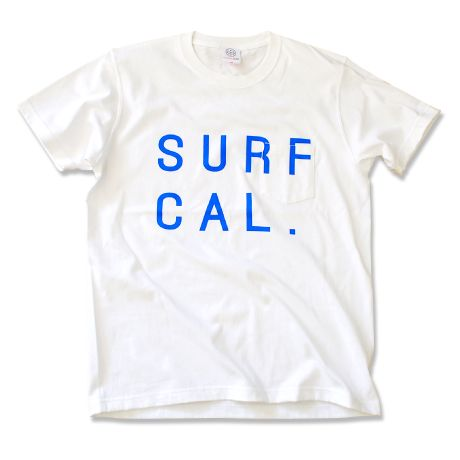 SURF CAL. Pocket Tee  【White】 | YouthFUL SURF