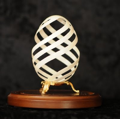Egg carving. The next level of Easter.
