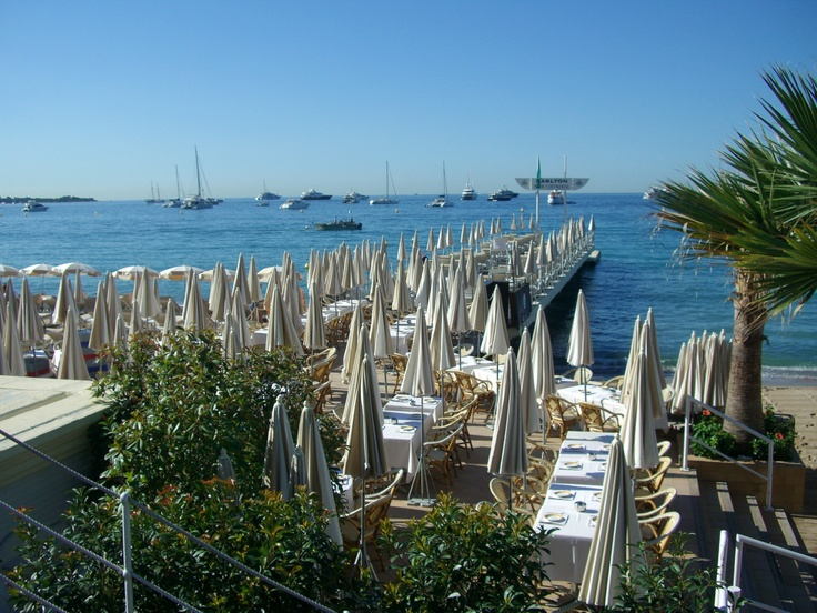 French Riviera: The Carlton Beach, Cannes