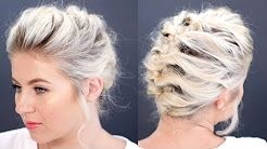 Hairstyles For Short Hair Milabu : about Short Hair Tutorials on Pinterest Chin Hair, Shorter Hair ...