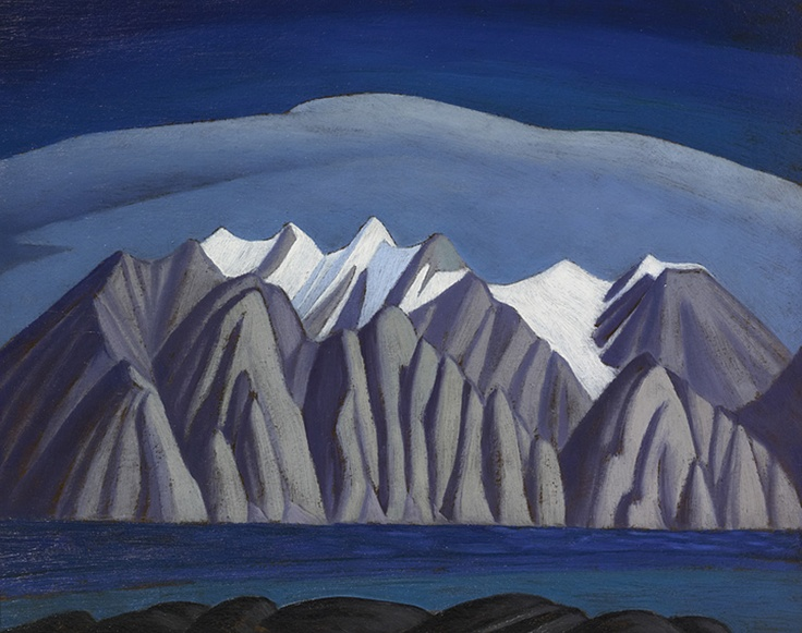 "Lawren Harris | Bylot Island | artist among ""Group of Seven"""