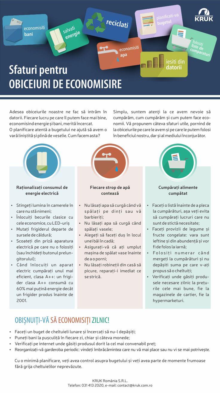 Adoptand aceste obiceiuri de economisire, putem evita situatii financiare dificile, precum imposibilitatea de a plati rata la banca http://www.datoriamea.ro/?poradnik=solutii-pentru-a-nu-avea-rate-neplatite-cum-sa-economisim