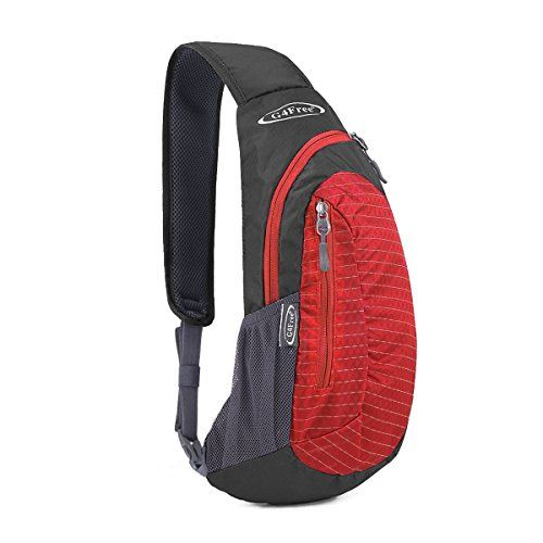 G4Free Sling Bags Shoulder Backpacks Chest Triangle Pack Rucksack Small Black