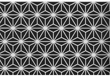 CHIYOGAMI 70g/m2 Flocons de neige  Washi (feuille 63x94cm) - 70% Kozo - genshi. Sérigraphie japonaise - Papier japonais fait main. Yuzen. Usage et support: origami - kirigami et papercraft , idéal pour le désign et les arts décoratifs. il accepte parfaitement les colles et les moulages.