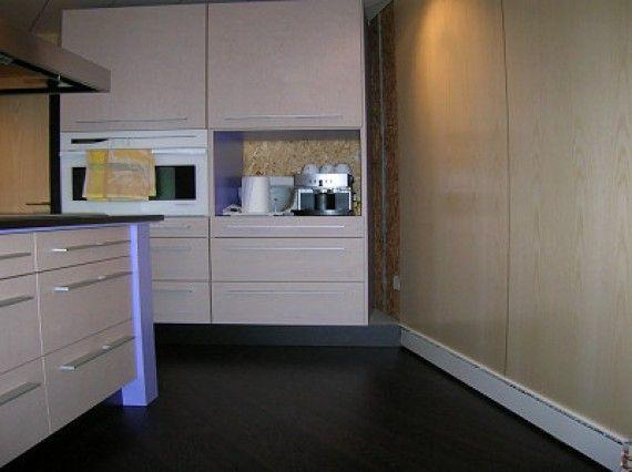 Des plinthes thermiques posées en cuisine