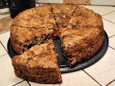 Потрясающий овсяный пирог с вишней - Простые рецепты Овкусе.ру