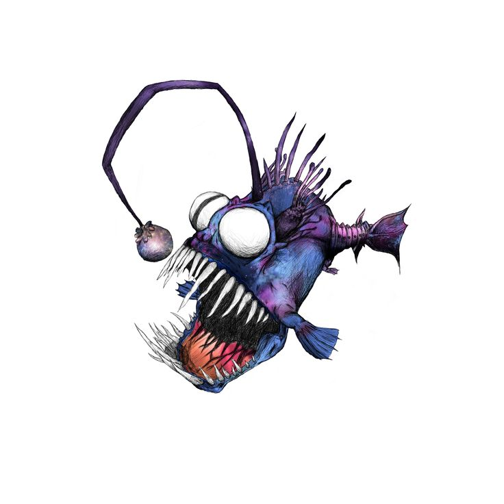 angler fish little prince - Google Search