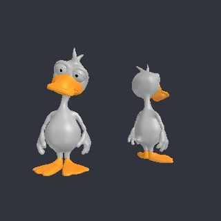 duck free 3D model Duck.3ds vertices - 69092 polygons - 137240 See it in 3D: https://www.yobi3d.com/v/nxD1WKkl4x/Duck.3ds