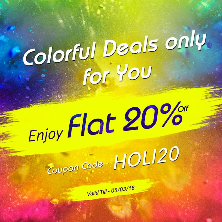 Best 17 deal of the day images on pinterest happy holi from ibhejocom colorful deals only for you shoplikeanamerican fandeluxe Choice Image