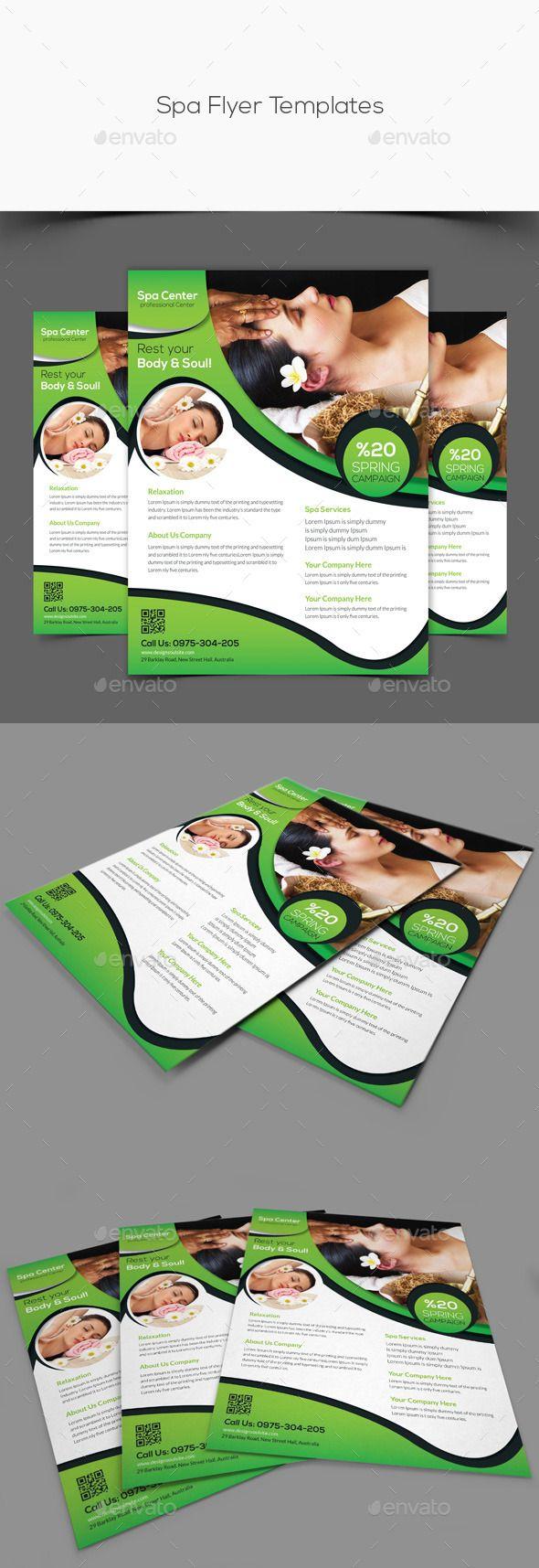 Best Spa Brochure Images On   Spa Brochure Brochures
