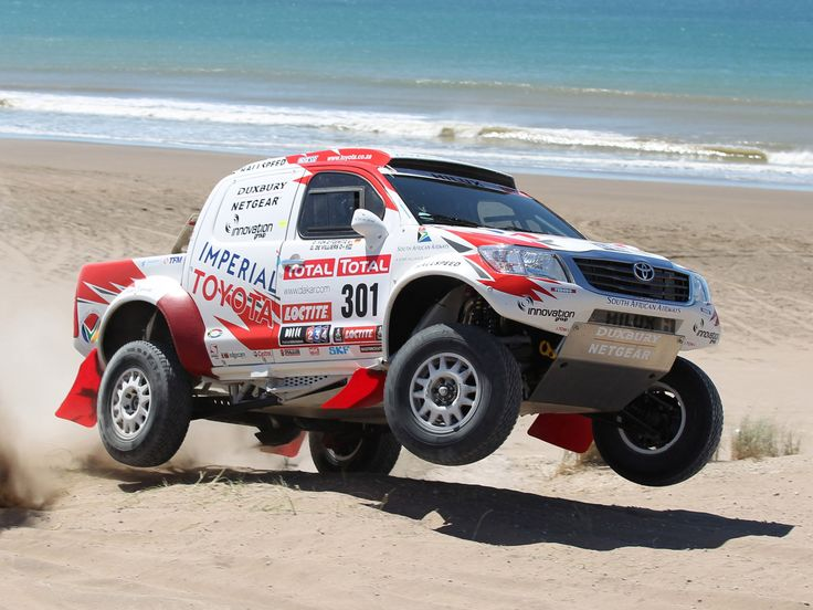 Toyota Hilux Rally Car Toyota Hilux Rally Car Toyota Hilux Rally Car
