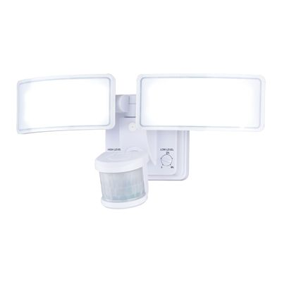 Cascadia Lighting Gamma Dualux LED Security Light with Bluetooth