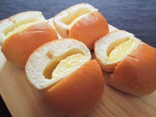 【クリームパン対決】セブン、ローソン、ファミマ、ヤマザキ!1番クリームたっぷりなのは?  どこのクリームパンも、何度でも食べたくなるような魅力があります♪