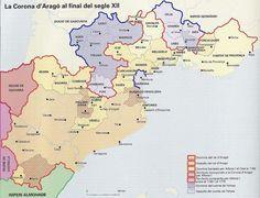 La Corona d'Aragó al final del segle XII