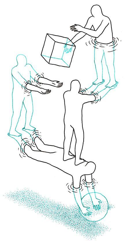 Man As A Measure: Illustrations by Daan Botlek