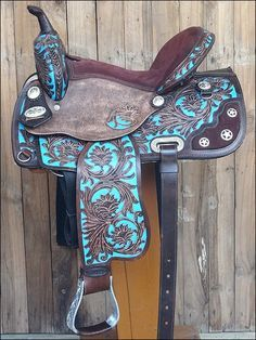 SKU-HILASON-HORSE-TACK-WESTERN-LEATHER-BARREL-RACING-TRAIL-PLEASURE-SADDLE