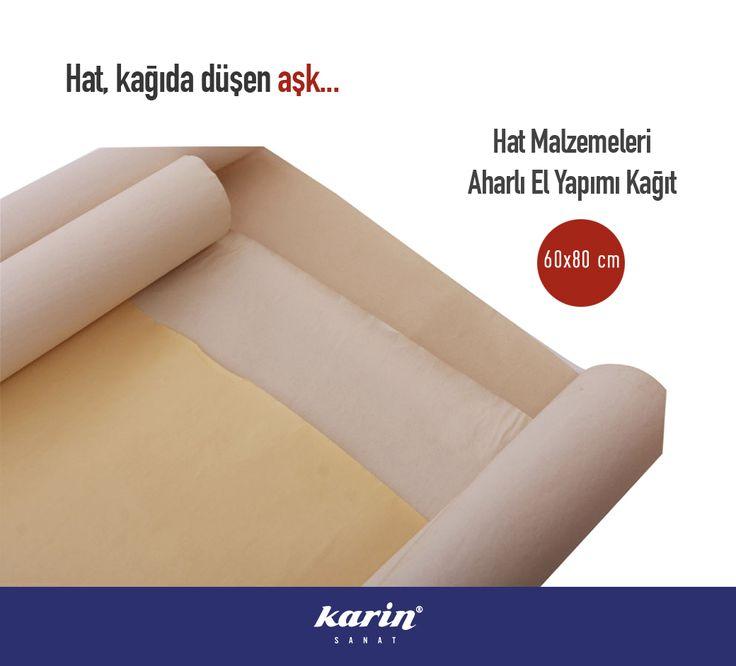 Hat, kağıda düşen aşk... http://www.karinsanat.com/60x80-cm-aharli-el-yapimi-kagit  #karinsanat #hatmalzemeleri #hat #aharlıkağıt #paper #fineart #art