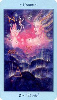 The Fool - Celestial Tarot