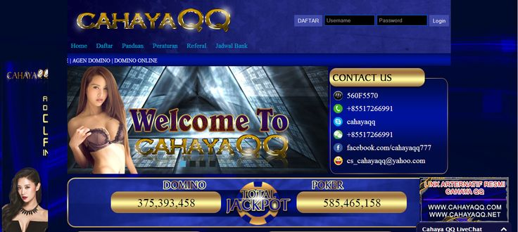 CAHAYAQQ – Agen Poker Online, DominoQQ Terpercaya
