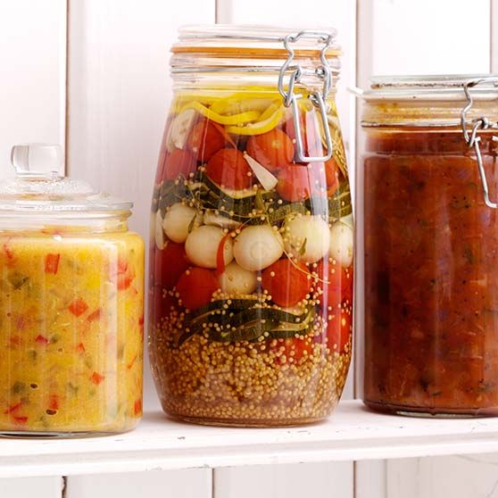Inlagda grönsaker - Recept