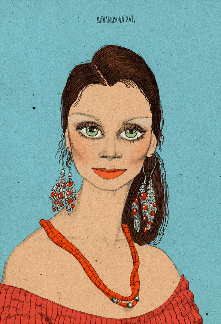 Russian actresses on Behance Любовь Полищук