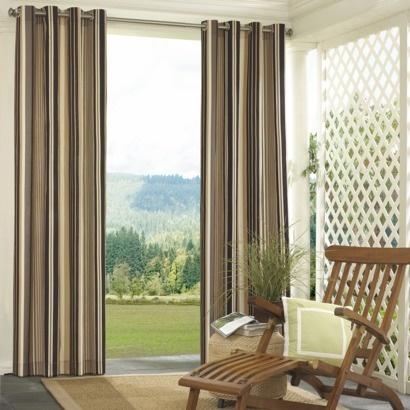 Target Capetown Stripe Indoor/Outdoor Window Panel. For The Bedroom? Patio  CurtainsStripe ...