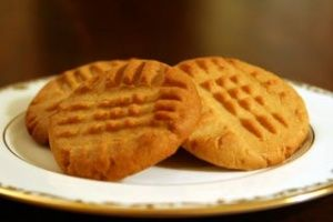 Peanut Butter Cookies Recipe | Simply Recipes with egg!
