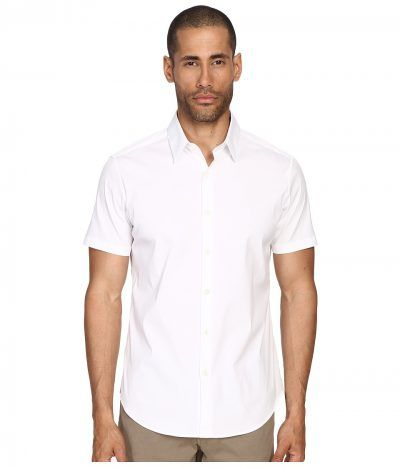 Theory - Sylvain S Wealth (White) Men's Clothing