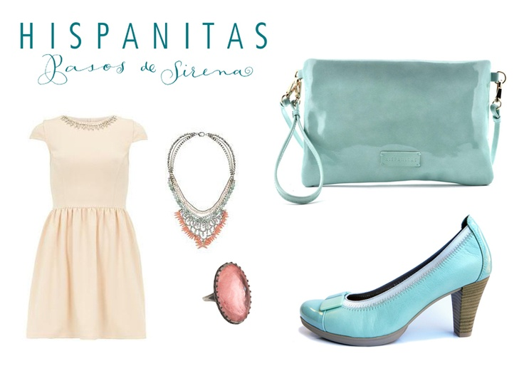 Spring look aquamarin  you can find these products here:  www.hispanitas.ro/shop-online