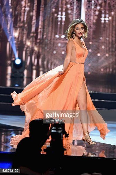 LAS VEGAS, NV - JUNE 05: Miss California USA 2016 Nadia... #lasarenases: LAS VEGAS, NV - JUNE 05: Miss California USA 2016… #lasarenases
