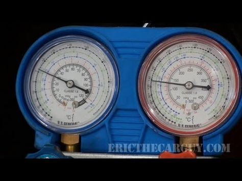 ▶ How To Recharge an AC System - EricTheCarGuy - YouTube